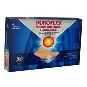 Nuroflex Dolori Muscolari e Articolari 4 Cerotti Medicati Ibuprofene 200mg