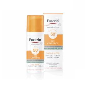 Eucerin Oil Control Sun Gel-Creme Tocco Secco SPF 50+ 50ml