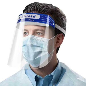 Visiera protettiva para schizzi di sicurezza maschera schermo trasparente