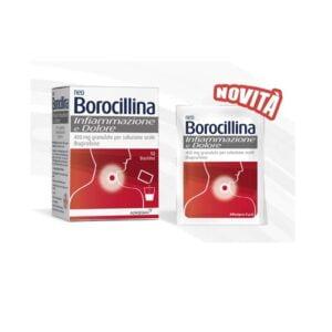 NeoBorocillina Infiammazione e Dolore 400mg 12 Bustine