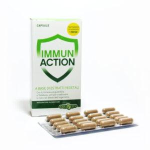 Erba Vita Immun Action Difese dell'Organismo 60 capsule