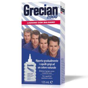 Grecian 2000 Lozione Colorante con balsamo Elimina il Grigio Gradualmente 125ml
